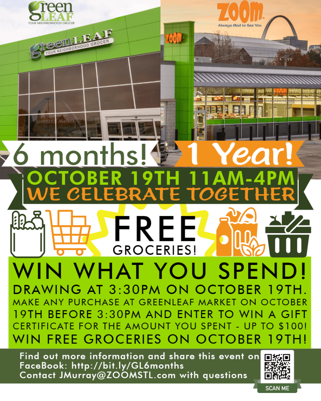 Win free groceries at GreenLeaf Market