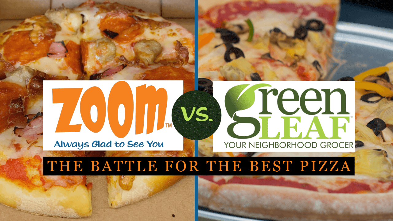 Vote on your favorite pizza: Sun baked pizza from ZOOM or chef prepared pizza at GreenLeaf Market