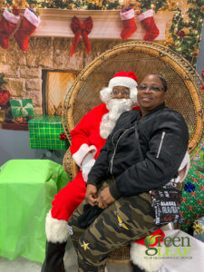 December 15 2019 Pictures with Santa Claus Event at GreenLeaf Market