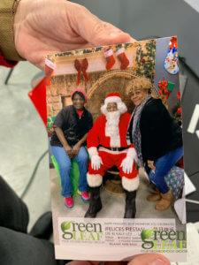 Christmas pictures at GreenLeaf Market St. Louis Grocery Store