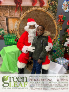 Pictures with Santa Claus Event at GreenLeaf Market