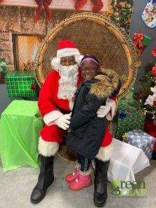 Holiday pictures at GreenLeaf Market St. Louis Grocery Store
