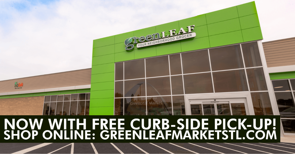 free curbside pickup at Greenleaf Market St. Louis